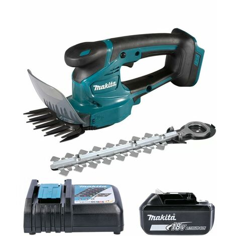 Makita DUM111 18V LXT Grass Shear & Hedge Cutter With 1 x 5.0Ah Battery & Charger