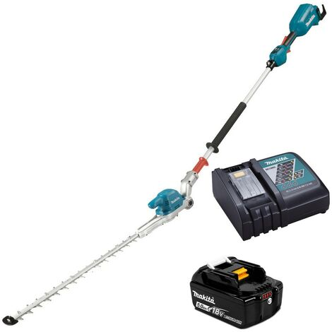 Makita DUN500W LXT 18v Li-Ion Brushless Pole Hedge Cutter Trimmer 1 x Battery