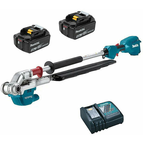 Makita DUN500WRTE LXT 18V Pole Hedge Trimmer 500mm 2x 5Ah Batteries