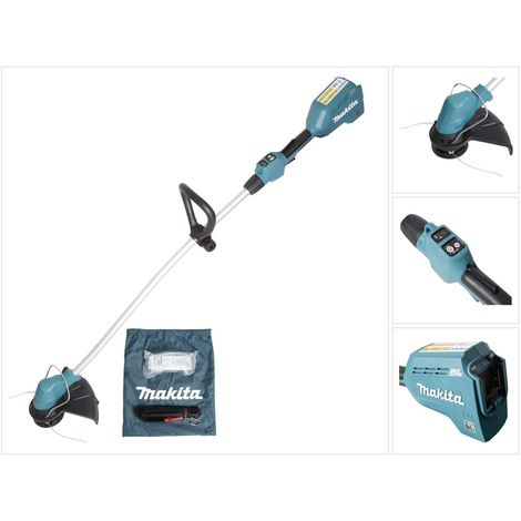 makita dur 184 lz 18 v li ion brushless akku rasentrimmer. Black Bedroom Furniture Sets. Home Design Ideas