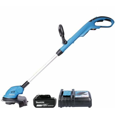 Makita DUR181 18V Grass Line Trimmer With 1 x 4.0Ah Battery & Charger