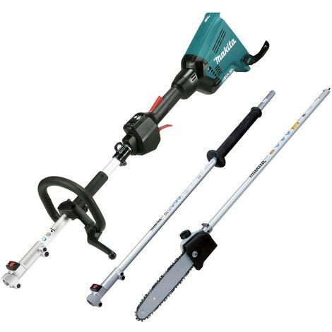 Makita DUX60Z Brushless 18v / 36v Cordless Split Shaft Multi Tool Chainsaw + Ext