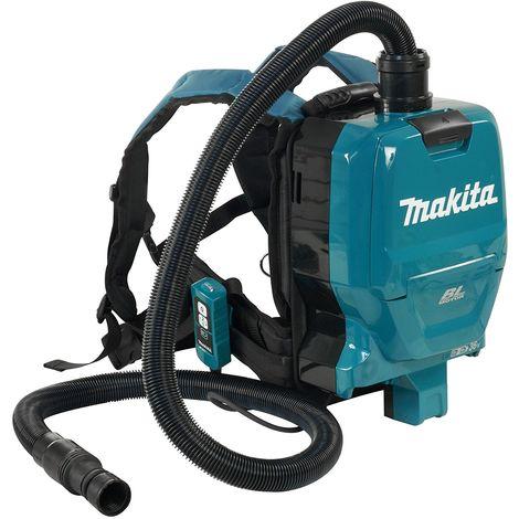 Makita DVC260ZX Aspirateur à harnais 36V (2x 18V) Li-Ion (machine seule)