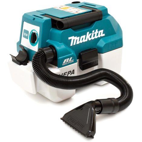 MAKITA DVC750LZ BRUSHLESS VACUUM CLEANER 18v Li-ion LXT 7.5 L L-Class wet & dry