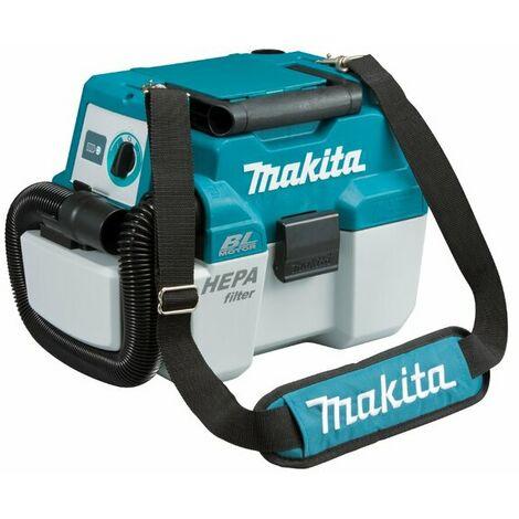 Makita DVC750LZX1 18V Li-Ion Aspirateur souffleur sans fil 7,5L - Sans balais