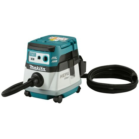 Makita DVC867LZX Cordless BL LXT Class L Dry Vacuum 36V (2 x 18V) Bare Unit