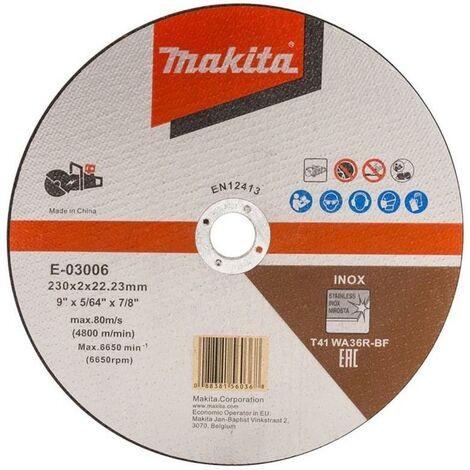 "Makita E-03006 Cutting Cut Off Wheel 230mm 9"" For DCE090 Disc Cutter"