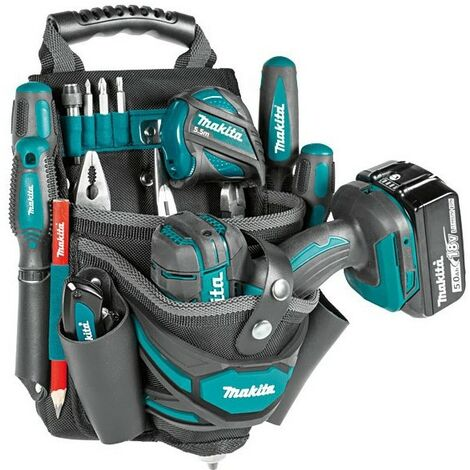 Makita E-05125 Universal Tool Pouch & Drill Holster Left Right Hand Strap System