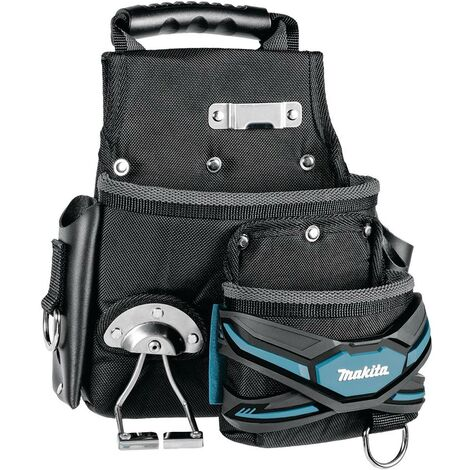Makita E-05153 2 Pocket Screw Nail Fixings Tool Pouch Roofer Strap System