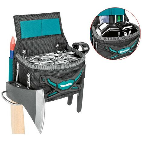 Makita E-05197 Square Riveted Screw Nails Pouch & Hammer Holder Strap System