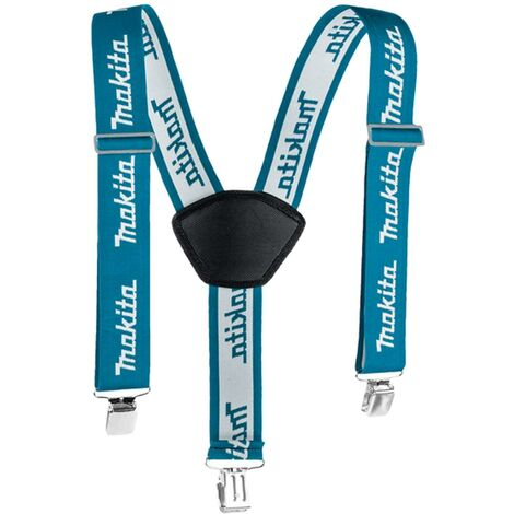 Makita E-05402 Ultimate Blue Clip on Braces Cushioned Pad Painter Strap System