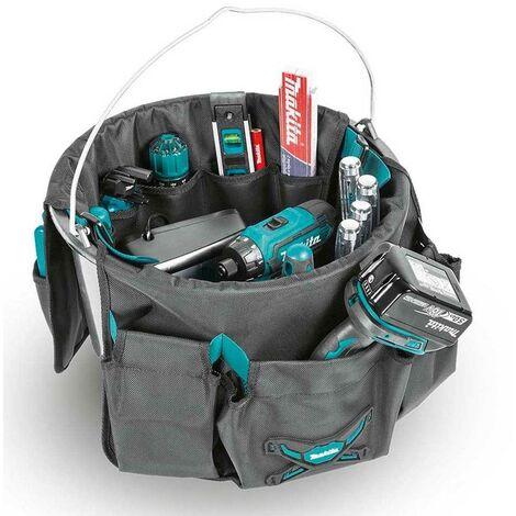 Makita E-05527 Tool Bucket Tote Bag Toolbag Fixings Bag Organiser Strap System