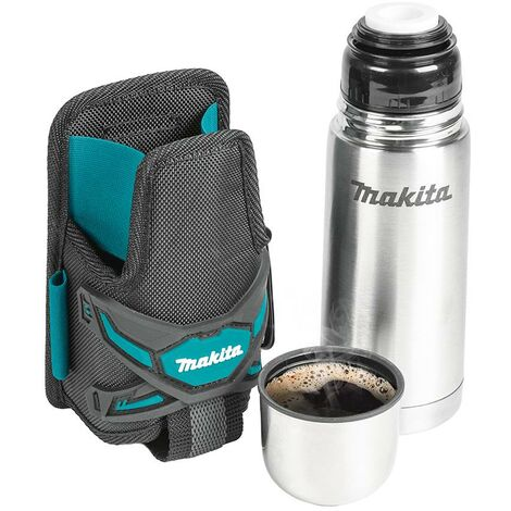 Makita E-05599 Thermal Thermos Flask Cup & Holder Holster Strap System