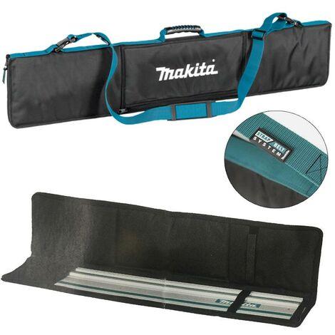 Makita E-05670 Guide Rail Bag 2x 1.0m Rails + Clamps + Pocket DSP600 Plunge Saw