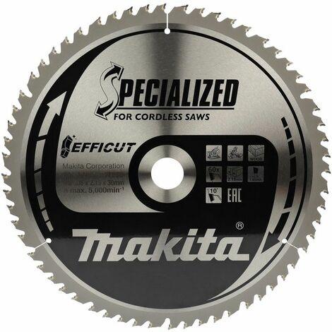 Makita EFFICUT Lame de scie 305x30 mm, 60 dents - B-67309