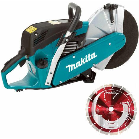 "Makita EK6100 300mm/12"" Petrol Disc Cutter with 1 x Stealth Diamond Blade"