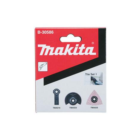 Makita Ensemble 4 accessoires pour bois et métaux - B-30623