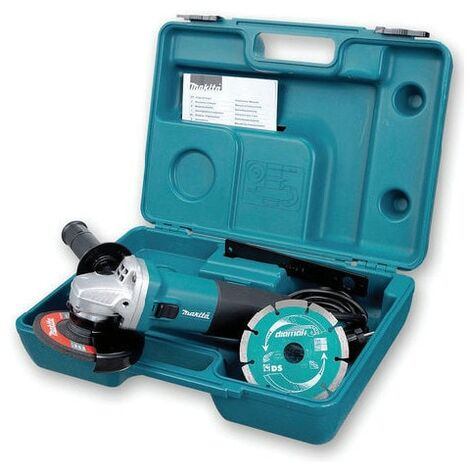 Makita GA4530RKD/2 115MM 720W Angle Grinder with Diamond Disc 240V