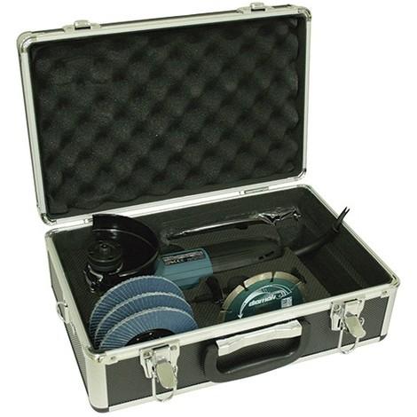 Donde comprar linda rico y magnífico Makita GA4530RX1 - Kit miniamoladora 115mm 720W SAR