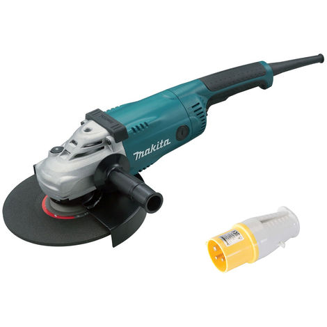 Makita GA9020S 230mm Angle Grinder with Soft Start 110V with Plug Socket:110V
