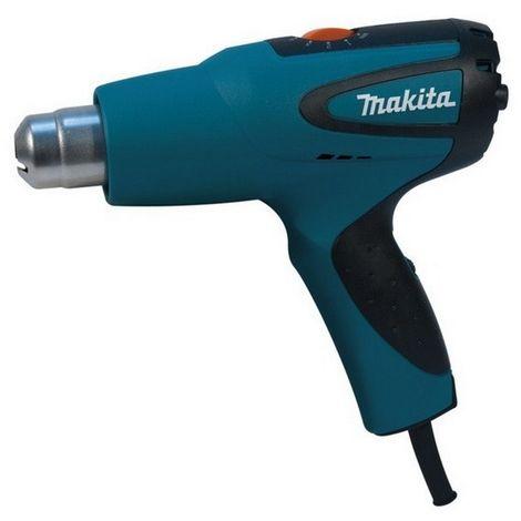MAKITA HG551VK - Decapadora de aire caliente 1800w 250-550 l/min 100-550 c temp con maletin