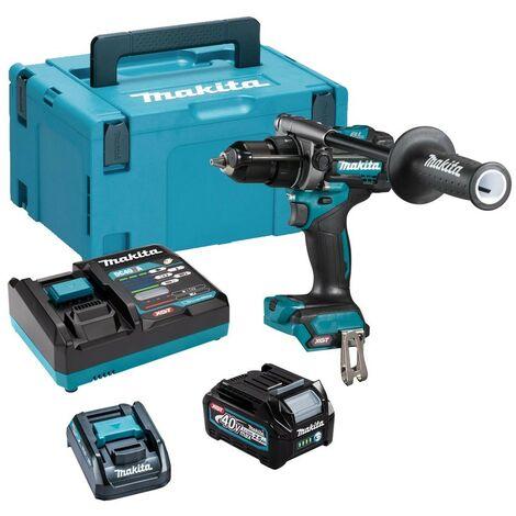 Makita HP001GD102 40v Max XGT Brushless Rotary Combi Drill + Battery + Charger