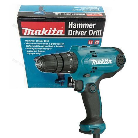 Makita HP0300 110v Corded Combi Hammer Drill 10mm Chuck 2.5m Cable