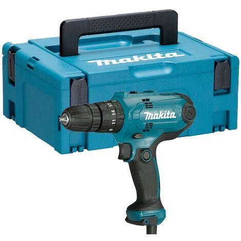 Makita HP0300 240v Corded Combi Hammer Drill 10mm Chuck 2.5m Cable + Makpac Case