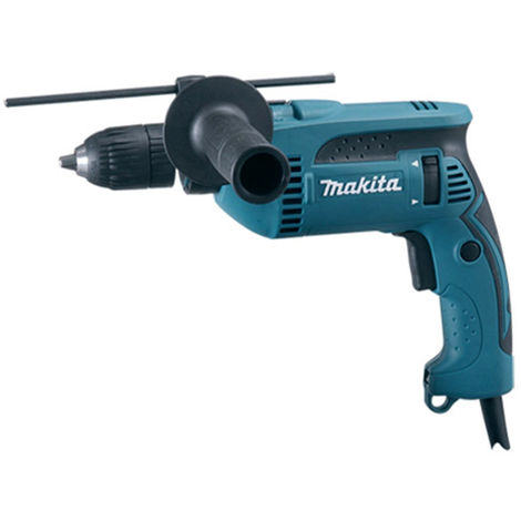 Makita HP1641K 110V 13mm 680W Percussion Drill with Keyless Chuck & Carrying Case