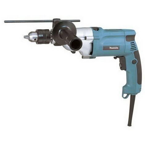 MAKITA HP2050 - Taladro percutor 720w 2.5 kg 1200-2900 rpm portabrocas con llave con maletin