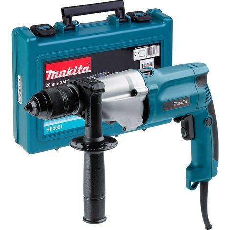 Makita HP2051 110V 13mm 2 Speed Percussion Drill With Keyless Chuck
