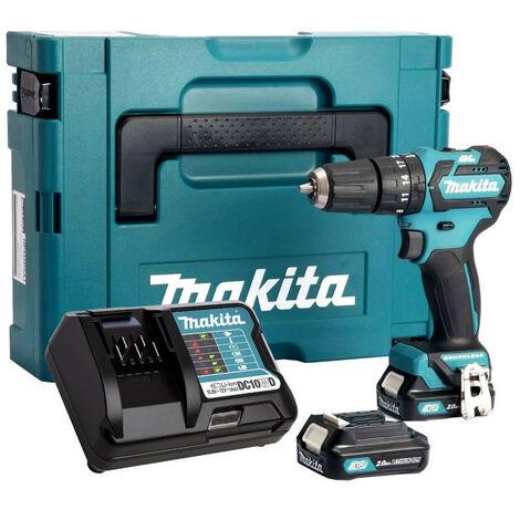 Makita HP332DSAJ 10.8V Brushless Combi Drill 2X2AH Batteries