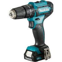 Makita HP333DSAX1 Perceuse à percussion visseuse à percussion sans fil 2 batteries 12 V 2 Ah + chargeur dans coffret de transport