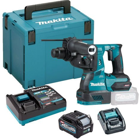 Makita HR003GD101 XGT Rotary Hammer Drill BL 40Vmax With 2.5Ah Battery Charger