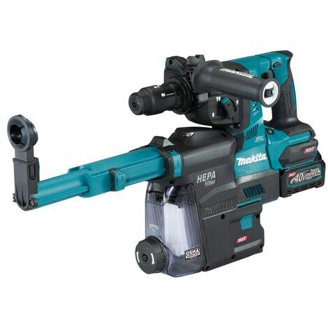 Makita HR004GD202 40Vmax Rotary Hammer BL + Extractor 40V 2 x 2.5Ah Li-ion