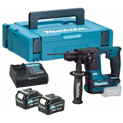 Makita HR166DSMJ Perforateur SDS-plus à batteries 10,8V Li-Ion (2x batteries 4.0Ah) dans MAKPAC - 1,1J
