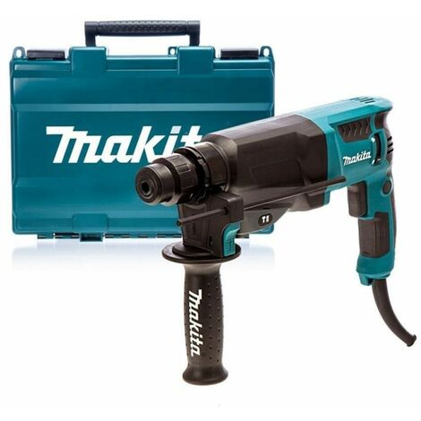 Makita HR2630 SDS-plus Martillo combinado en maletín - 800W - 2,4J