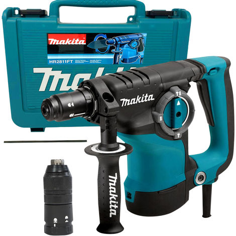 Makita HR2811FT-1 110V 28mm SDS+ Rotary Hammer with Quick Change Chuck