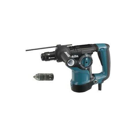 Makita HR2811FT Perfo-Burineur SDS-Plus 800W 28mm avec Butée, Poignée et Mandrin Automatique Interchangeable
