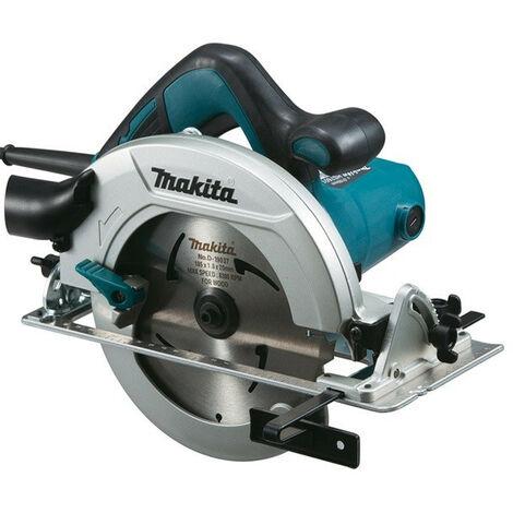 Makita HS 7601 1200 W Scie circulaire + Lame de scie Ø 190 mm MForce