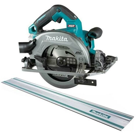 Makita HS004GZ 40v Max XGT 190mm Brushless Circular Saw Bare Unit + 1x 1.5m Rail