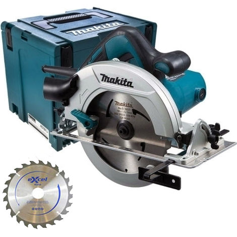 Makita HS7601J 190mm Circular Saw In Case 240V With 1 x 48T Blade:240V