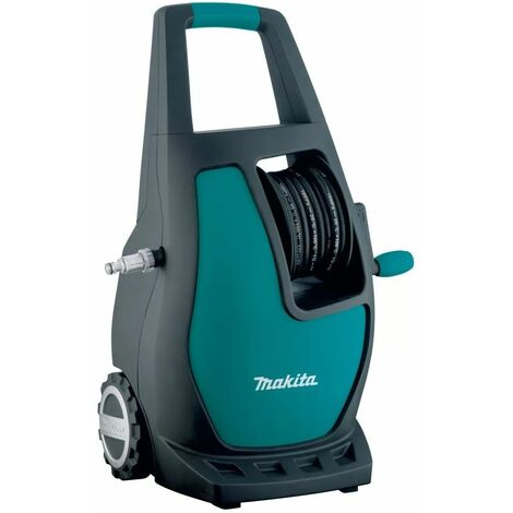 Makita HW112 Compact Pressure Washer 120 Bar 240V With Accessories