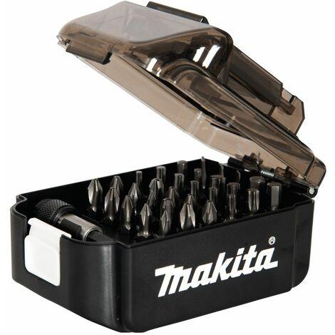 Makita Jeu d'embouts dans le coffret ''Batterie LXT'', 31-pièces, 25 mm - E-00016