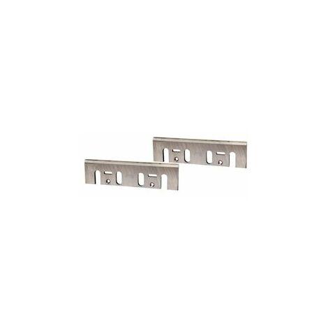 Makita Jeux de fers réaffutables pour rabots HM 110mm - D-08822