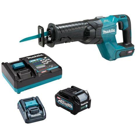 Makita JR001GD102 40v Max XGT Brushless Reciprocating Saw + Battery + Charger