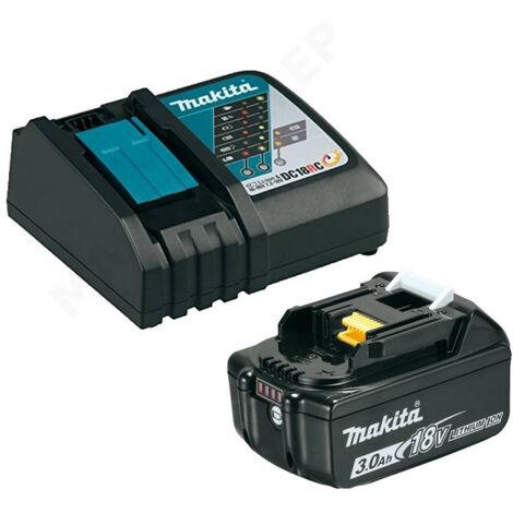 Makita - Kit chargeur et batterie 18V 3Ah - 191A24-4 - TNT