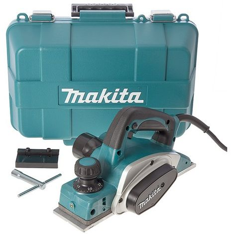 "Makita KP0800K/2 240V 3""/82mm Heavy Duty Planer 620W in Carry Case"