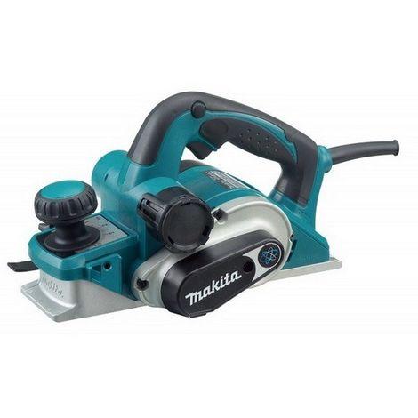 MAKITA KP0810 - Cepillo 850w 16000 rpm 3.3 kg ancho 82 mm corte 0-4 mm