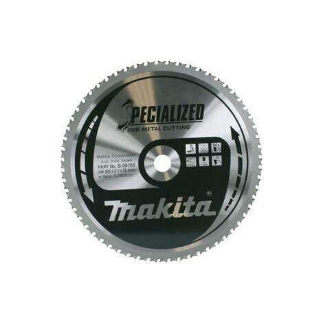 Makita Lame carbure Inox et métal, pour scies à onglets à métaux - A-87579